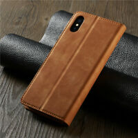 Leather magnetic Flip Case for IPhone X Xs Xr Max XSMAX 8 7 6 6s Plus 5 5S coque