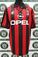 Maglia calcio MILAN ALBERTINI TG L SIGNED shirt trikot maillot camiseta jersey