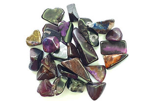 Sugilite AA quality tumbled crystal chips, Beautiful Crystals 5-20mm
