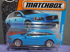 2016 MATCHBOX Special Custom VOLVO V60 WAGON with Hot Wheels Real Riders