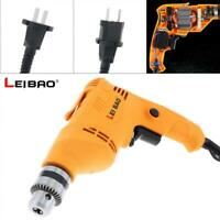 580W Handheld Impact Electric Pistol Drill with Rotation Switch and 10mm Chuck