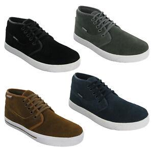 Ascot Mens RHOMBUS HI Chukka Boot Genuine Suede Leather Casual UK 7 - 12