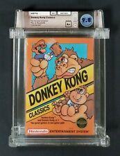 1988 NES NINTENDO DONKEY KONG CLASSICS FACTORY SEALED REV-A 3 SCREW WATA 9.8 A+