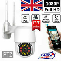 1080P WIFI IP Camera Wireless Outdoor HD PTZ Smart Home Security IR Cam Hot Sell