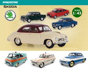 FAMOUS CZECH SKODA CARS COLLECTION /1:43 / DeAgostini/Abrex****select the model