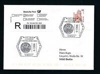 10033) Reco-Brief EF Do-Nominale 51oPF/2,61€ SST Cottbus 850 J. 2006, Ecke 4