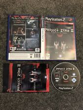 PlayStation 2 Game: Project Zero II Crimson Butterfly (Superb Condition) UK PAL