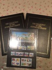 1999 Australian Post YearBook Album Stamps - Executive Leather Black Edition