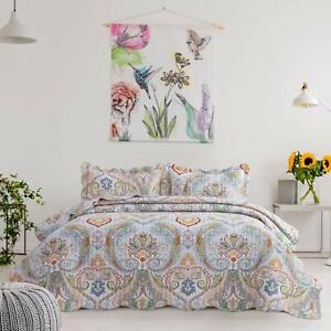 Premium Comforter Set, Lightweight Coverlet Quilt for Spring and Summer sheet