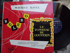 Maurice  RAVEL:BOLERO/TOMBEAU DE COUPERIN/André CLUYTENS/COLUMBIA