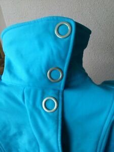 KANGAROOS♥Jacke Softshell blau türkis heller als Foto♥S/36♥NEU♥🔝♥