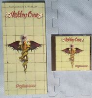 MOTLEY CRUE - DR FEELGOOD - CD LONG BOX - VERY NICE SHAPE - ORIGINAL CD INCLUDED