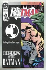 Batman #497-1993 nm- 1st Bane Breaks Batman's Back Knightfall