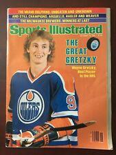Sports Illustrated - 10/12/1981 - Wayne Gretzky (Edmonton Oilers)