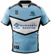 Cronulla Sharks 2019 Home Jersey Mens Small - 6XL,Womens 8 - 18 NRL XBlades SALE