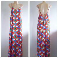 LEE LEE'S FOREST NYC Ladies Multi-Coloured Floral Sleeveless Dress Size Large