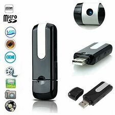 U8 USB Disk Mini Hidden Spy DV Secret HD Camera Video Recorder Motion Detector