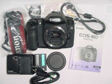 Canon EOS 40D 10.1MP Digital SLR Camera - Black (Body Only) * MINT