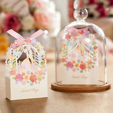 Wedding Gift Box Favor Wedding Party Favor Bags Ribbon Candy Storage New MWUK`UK