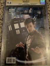 Doctor Who: The Eleventh Doctor #4 CGC SS Signed by Matt Smith Autographed