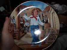 Set of 2 Shirley Temple collectors plates