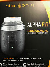 New Clarisonic Alpha Fit Men's Sonic Skin Cleansing System  Beard Cleansing