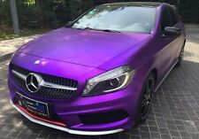 SATIN CHROME PURPLE VINYL WRAP ROLL CAR VEHICLE WRAP 1.52M x 1M