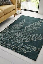 Asiatic Carpets Luna Green Leaf Rug Modern Contemporary 120x170 cm RRP £95