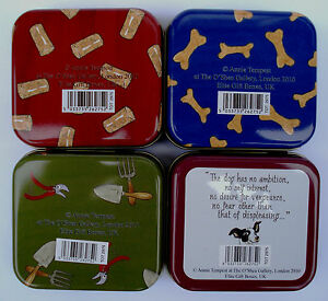 GOLF GIFT - TOTTERING TINS BY GENTLY IDEAL FOR HANDBAG GOLF BAG