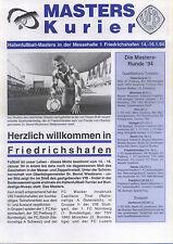14.-16.01.1994 DFB-Masters Friedrichshafen mit FC Zürich, Luzern, Innsbruck, ...