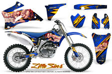 YAMAHA YZ250F YZ450F 06-09 GRAPHICS KIT CREATORX DECALS LSBL