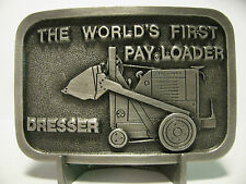 "Dresser Pay Loader Pewter Belt Buckle Limited Edition 419/1000  ""World's First"""