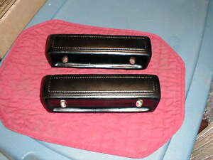 NOS MOPAR 1968-70 B BODY BLACK ARM REST PADS ROAD RUNNER GTX SUPER BEE R/T