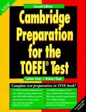 Cambridge Preparation for the TOEFL Test by Robert Gear and Jolene Gear...