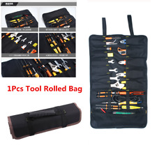 Motorcycle Tools Bag Multifunction Oxford Pocket Toolkit Rolled Bag Portable