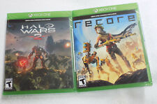 Halo Wars 2 and Recore Xbox One Microsoft NEW SEALED