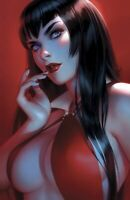 🔥 VAMPIRELLA #7 WARREN LOUW VIRGIN VARIANT COVER NM RARE LIMITED TO 500 2020!