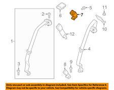 FORD OEM Rear Seat Belts-Buckle End Right DG9Z5460044BB