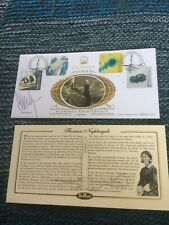 Claire Rayner Signed Benham Cover Florence Nightingale
