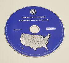 2004 VW VOLKSWAGEN TOUAREG NAVIGATION MAP DISC CD 1 CALIFORNIA NEVADA HAWAII