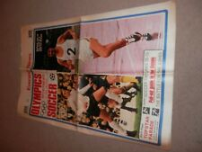 Evening News Olympics 1972 preview + Soccer Fixtures Dave Bedford