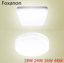 Светодиод потолка вниз свет панель лампа 18 Вт 15 Вт 24 Вт 36 Вт 48 Вт лампа теплый холодный белый