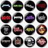 16 x Heavy Metal 32mm BUTTON PIN BADGES Pantera Motorhead Slayer Sabbath Priest