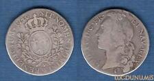 Louis XV, 1715-1774 – 1/2 Ecu au Bandeau 1746 W Lille TB