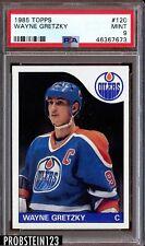 1985 Topps #120 Wayne Gretzky Oilers PSA 9 MINT