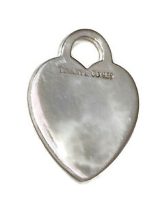 Tiffany & Co. Herz Anhänger aus .925 Sterlingsilber