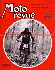 MOTO REVUE 1761 HARLEY DAVIDSON 1200 ELECTRA GLIDE Rudolf WYSS KREIDLER 50 1965