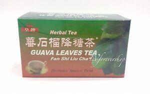 Royal King 100% Natural Guava Leaves Tea 20 Tea Bags Diabetics Herbal Drink