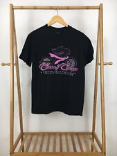 Harley-Davidson Women's Curves & Chrome Short Sleeve Black T-Shirt Size M