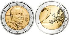 B) ITALIA 2 EURO COMMEMORATIVE GIOVANNI PASCOLI DEL 2012 FDC UNC